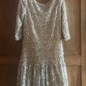 Fully beaded evening dress size 12